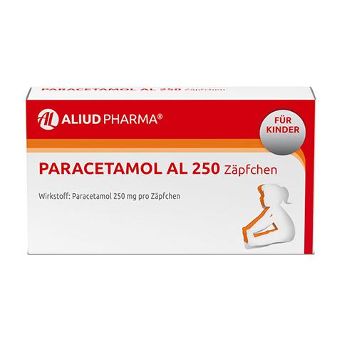 Paracetamol AL 250 10 Stück N1