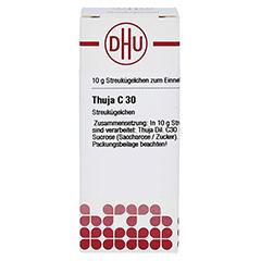THUJA C 30 Globuli 10 Gramm N1 - Vorderseite