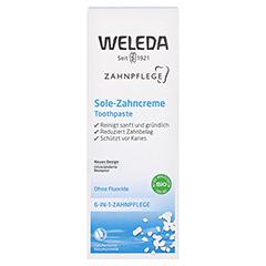 WELEDA Sole Zahncreme 75 Milliliter - Vorderseite
