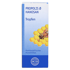PROPOLIS Urtinktur Hanosan 50 Milliliter N1 - Vorderseite