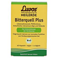 Luvos Heilerde Bio Bitterquell Plus Kapsln 60 Stück - Vorderseite