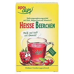 Apoday Heiße Beerchen + Vitamin C + Zink + Magnesium Pulver 10x10 Gramm - Vorderseite