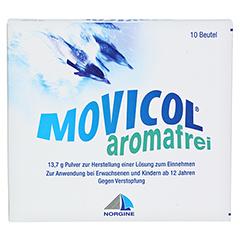 MOVICOL aromafrei Plv.z.Her.e.Lsg.z.Einnehmen MP 10 Stück - Vorderseite