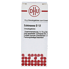 ECHINACEA HAB D 12 Globuli 10 Gramm N1 - Vorderseite
