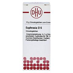 EUPHRASIA D 6 Globuli 10 Gramm N1 - Vorderseite