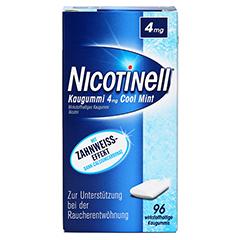 Nicotinell 4mg Cool Mint 96 Stück - Vorderseite