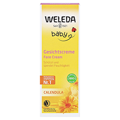 WELEDA Calendula Gesichtscreme 50 Milliliter - Vorderseite