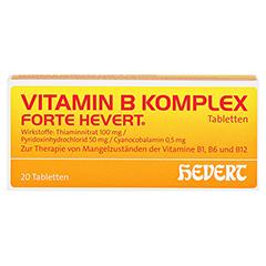 Vitamin B-Komplex forte Hevert 20 Stück N1 - Vorderseite
