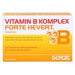 Vitamin B Komplex forte Hevert Tabletten 200 Stück - Vorderseite