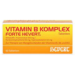 VITAMIN B KOMPLEX forte Hevert Tabletten 50 Stück N2 - Vorderseite