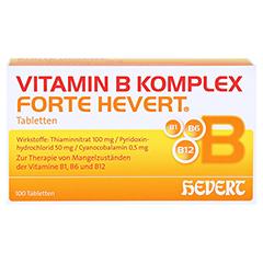 Vitamin B Komplex forte Hevert Tabletten 100 Stück N3 - Vorderseite