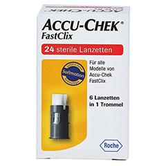 ACCU-CHEK Fastclix 24 Stück - Vorderseite