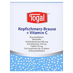 Togal Kopfschmerz-Brause+Vitamin C 20 Stück - Vorderseite