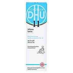 BIOCHEMIE DHU 11 Silicea D 4 Lotio 20 Milliliter N1 - Vorderseite