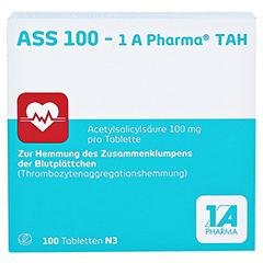 ASS 100-1A Pharma TAH 100 Stück N3 - Vorderseite