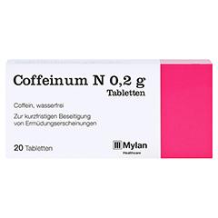 Coffeinum N 0,2g 20 Stück N1 - Vorderseite