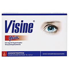 Visine Yxin ED 10x0.5 Milliliter - Vorderseite