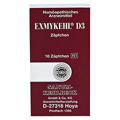 EXMYKEHL D 3 Suppositorien 10 Stück N1 - Vorderseite