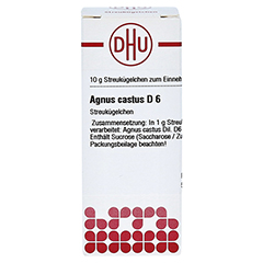 AGNUS CASTUS D 6 Globuli 10 Gramm N1 - Vorderseite
