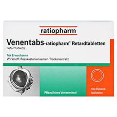 Venentabs-ratiopharm 100 Stück N3 - Vorderseite