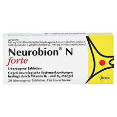 NEUROBION N forte überzogene Tabletten 20 Stück - Vorderseite