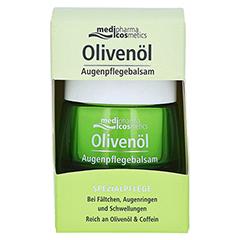 medipharma Olivenöl Augenpflegebalsam 15 Milliliter - Vorderseite