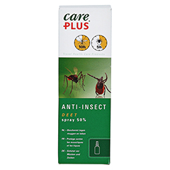 CARE PLUS Anti-Insect Deet Spray 50% 60 Milliliter - Vorderseite