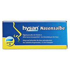 HYSAN Nasensalbe 5 Gramm - Vorderseite