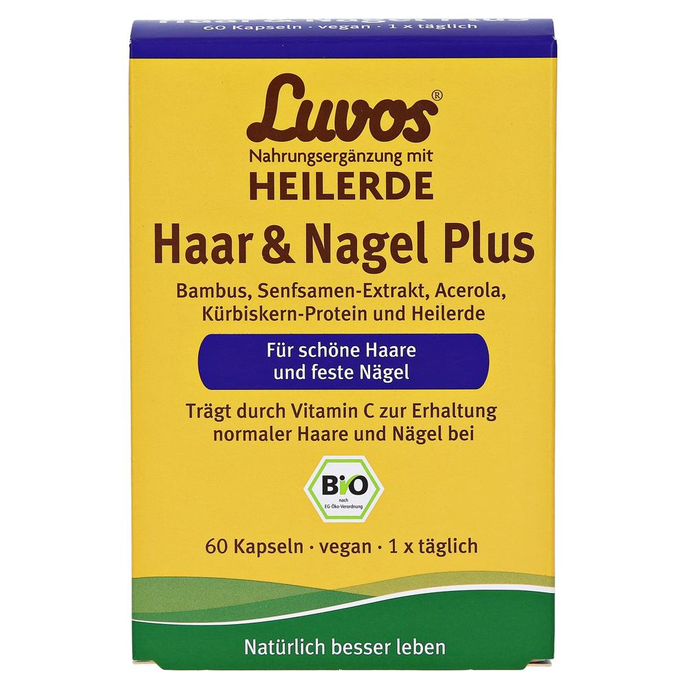 LUVOS Heilerde Bio Haar U0026 Nagel Plus Kapseln 60 Stu00fcck Online Bestellen - Medpex Versandapotheke