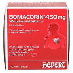 Bomacorin 450mg Weißdorntabletten N 200 Stück - Vorderseite