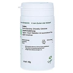 SPIRULINA+CHLORELLA Tabletten 120 Stück - Linke Seite
