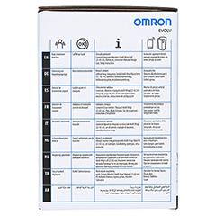 OMRON EVOLV all-in-one Oberarm Blutdruckmessgerät 1 Stück - Linke Seite