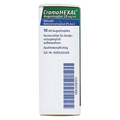 CromoHEXAL 10 Milliliter - Linke Seite