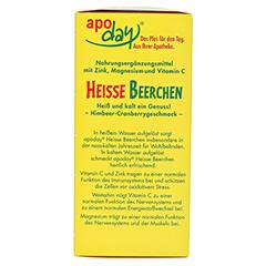 Apoday Heiße Beerchen + Vitamin C + Zink + Magnesium Pulver 10x10 Gramm - Linke Seite
