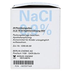 ISOTONE NaCl Lösung 0,9% BC Plast.Amp.Inj.-Lsg. 20x10 Milliliter N3 - Linke Seite