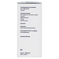 BIOCHEMIE Orthim 11 Silicea D 12 Tabletten 400 Stück N3 - Linke Seite