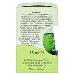 medipharma Olivenöl Augenpflegebalsam 15 Milliliter - Linke Seite