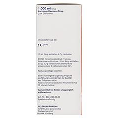 Lactulose Heumann 1000 Milliliter N3 - Linke Seite