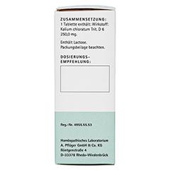 BIOCHEMIE Pflüger 4 Kalium chloratum D 6 Tabletten 100 Stück N1 - Linke Seite