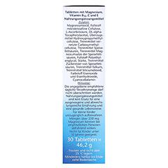 DOPPELHERZ Magnesium 400+B12+C+E Tabletten 30 Stück - Rechte Seite