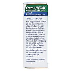 CromoHEXAL 10 Milliliter - Rechte Seite