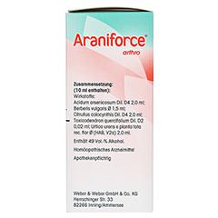 ARANIFORCE arthro Mischung 200 Milliliter - Rechte Seite