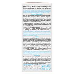 CURASEPT 0,05% Chlorhexidin Flasche 200 Milliliter - Rechte Seite