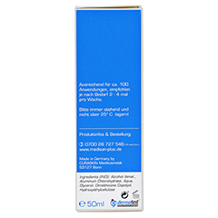 MEDISAN Plus Antitranspirant Roll-on 50 Milliliter - Rechte Seite