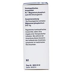 BIOCHEMIE Globuli 7 Magnesium phosphoric.D 12 15 Gramm N1 - Rechte Seite