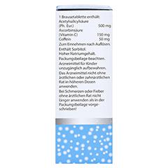 Togal Kopfschmerz-Brause+Vitamin C 20 Stück - Rechte Seite