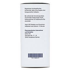 BIOCHEMIE Orthim 7 Magnesium phosphoricum D 6 Tab. 800 Stück - Rechte Seite