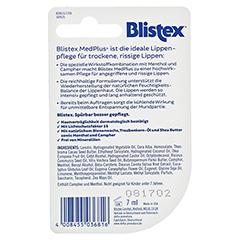 BLISTEX MedPlus LSF 15 Tiegel 7 Milliliter - Rückseite