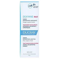 Ducray Dexyane MeD Creme 100 Milliliter - Rückseite