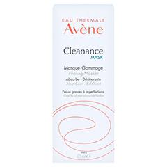 AVENE Cleanance MASK Peeling Maske 50 Milliliter - Rückseite